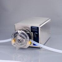 Mini peristaltic pump metering pump 220V 110V DC High flow for aquarium laboratory analysis liquid filling machine food grade