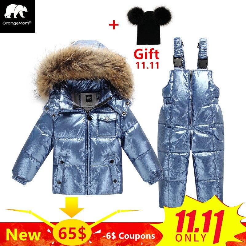 8171b0f9a Orangemom official store winter jacket for girls coats - купить ...