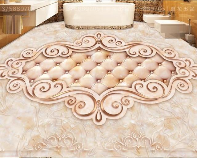 piso d papel pintado wallpaper foto patrn de lujo suave d azulejos del bao baldosas
