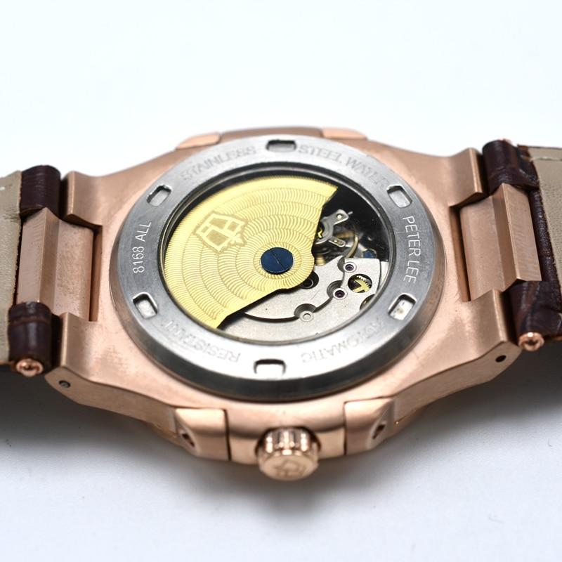 HTB1QwiofwDD8KJjy0Fdq6AjvXXaQ PETER LEE Sport Classic Men Watch Top Brand Leather Straps Mechanical Watch Fashion Male Clocks Business Unisex Watches Gift