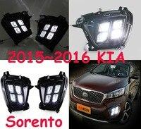 2015 2016 2017year KIA Sorento day light,Free ship!LED,sorento fog light,Rondo,sedona,sephia,soul,spectra,k2 taillight,k2 fog