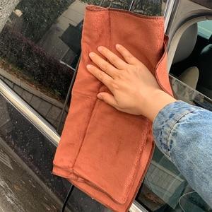 Image 2 - 1pc serviette microfibre voiture Auto nettoyage séchage tissu absorbant doux voiture soin chiffon Duster détaillant lavage de voiture 35x75cm