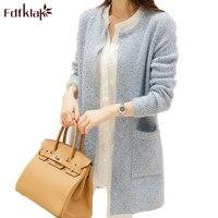 2016 Fashion Long Sleeve Cardigan Women Sweater Coat Elegant Cashmere Cardigan Knitted Sweaters Women S Poncho