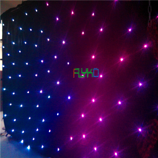 4x8m Cheap Price led candle light led star curtain free shipping