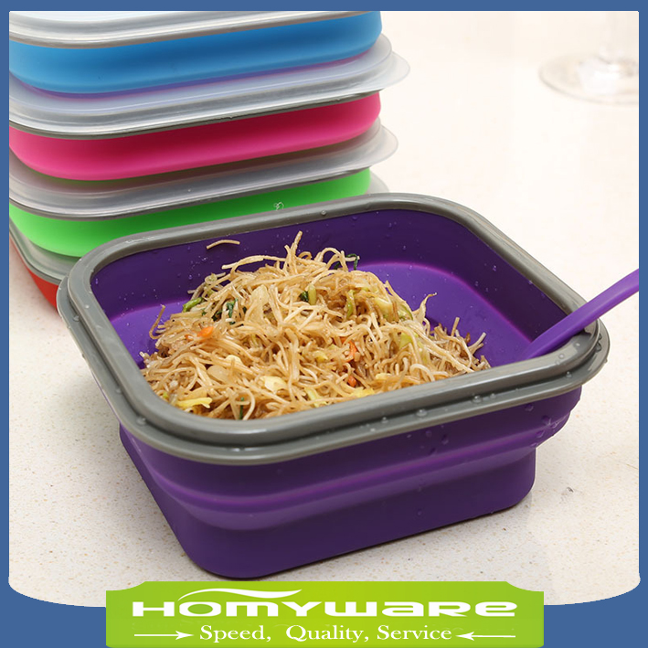 Small Collapsible Lunch Box Microwave Safe Leak Proof Bento Silicone Food Container In Bo From Home Garden On Aliexpress Alibaba Group