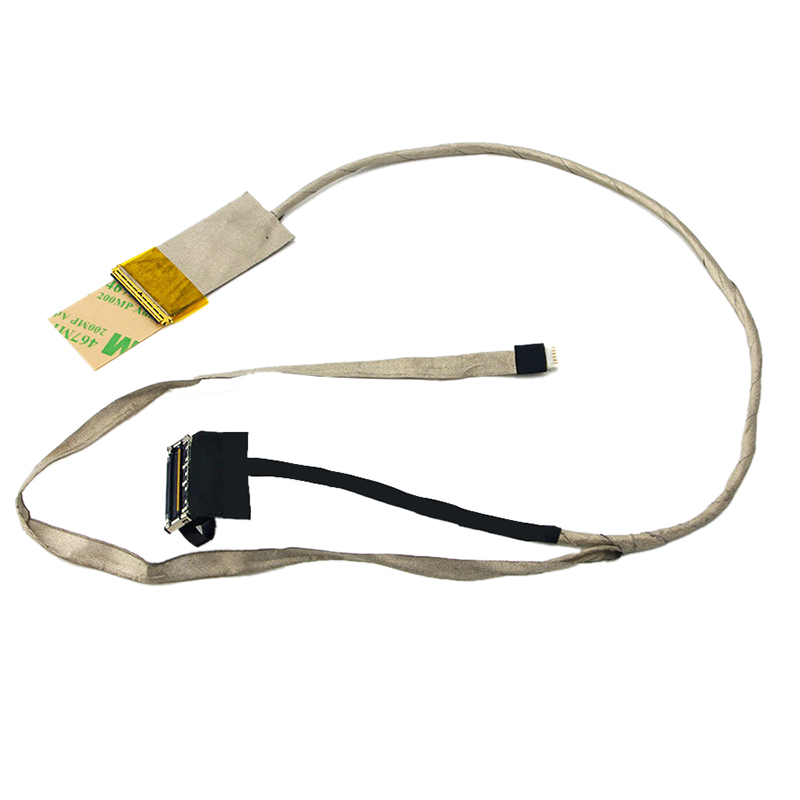 New For HP Pavilion G7-2000 Series LED LCD Screen LVDS Video Cable DD0R39LC000 574680 001 1gb system board fit hp pavilion dv7 3089nr dv7 3000 series notebook pc motherboard 100% working