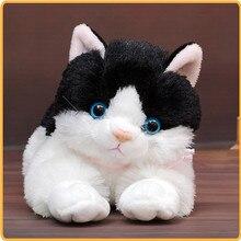 30 см моделирование кошка плюшевая игрушка сопутствующий спящий папа кошка мягкая подушка кукла День рождения Рождественский подарок