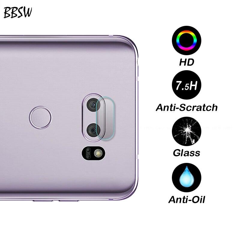 BBSW 2PCS For LG V30 Camera Lens Tempered Glass Screen Protector For LG V30 H930 7H Flexible Rear Transparent Camera Lens Film