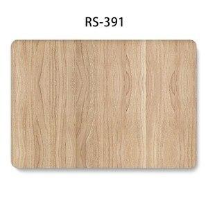 Image 4 - Mode Holz Gemalte Laptop Fall für MacBook Retina Pro Air 13 15 12 zoll Harte Stoßfest Fällen für A1990 A1706 a1398 PVC Abdeckung
