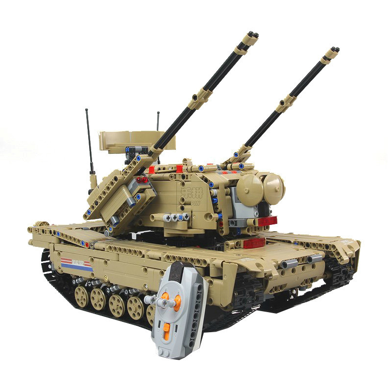 Military War Series 2 in 1 the Remote Control RC Tank Set Building Blocks Bricks Educational Toy Christmas Gift Lepin 20070 1572pcs moc technic the remote control rc tank military war assembly building block brick toy for boys christmas gift 20070