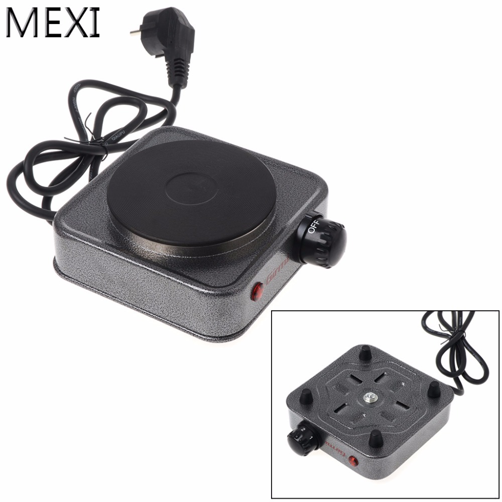 MEXI Mini EU Plug Electric Stove Coffee Heater Plate 500W Multifunctional Home Appliance Kit