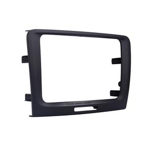 Image 5 - Seicane Black 220 *130 * 210mm 2 Din Car DVD Radio refitting Dash Panel Fascia Frame for 2009 2010 2011 2012 2014 Skoda Superb
