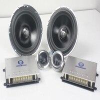 Mc a1 Hi Fi 1 пара Car Audio компонентная акустическая система 6.5 дюймов Car Audio частота Рог сабвуфера полный спектр громкий динамик