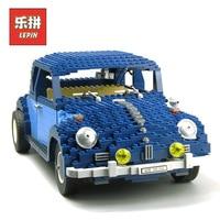Lepin Creator 21014 Technic Car Classic Series the Ultimate Beetle Set Model Building Blocks Bricks Children Toy Gift Lepin