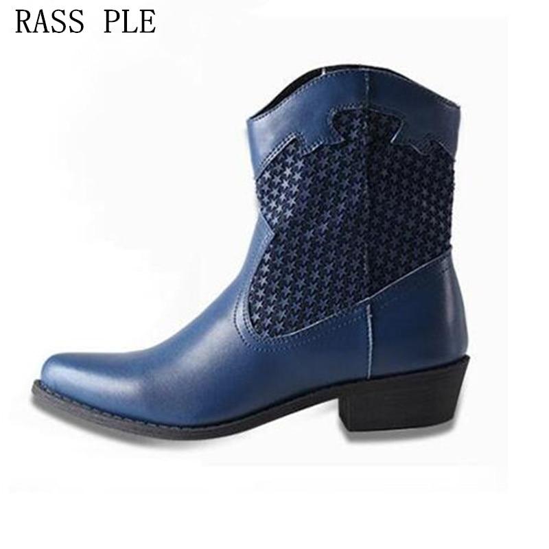 Popular Cowboy Boots-Buy Cheap Cowboy Boots lots from China Cowboy ...