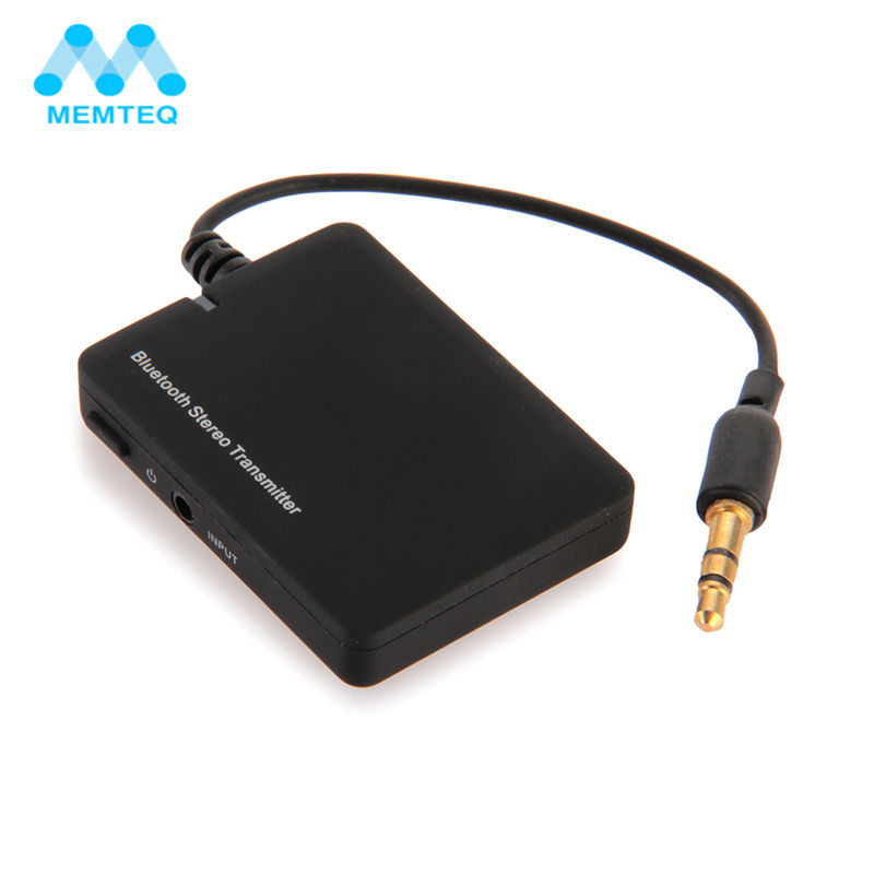 MEMTEQ Wireless Adapter Mini 3.5mm Bluetooth V2.1 Receiver Stereo Music Transmitter A2DP Audio Adapter Dongle HiFi for TV MP3
