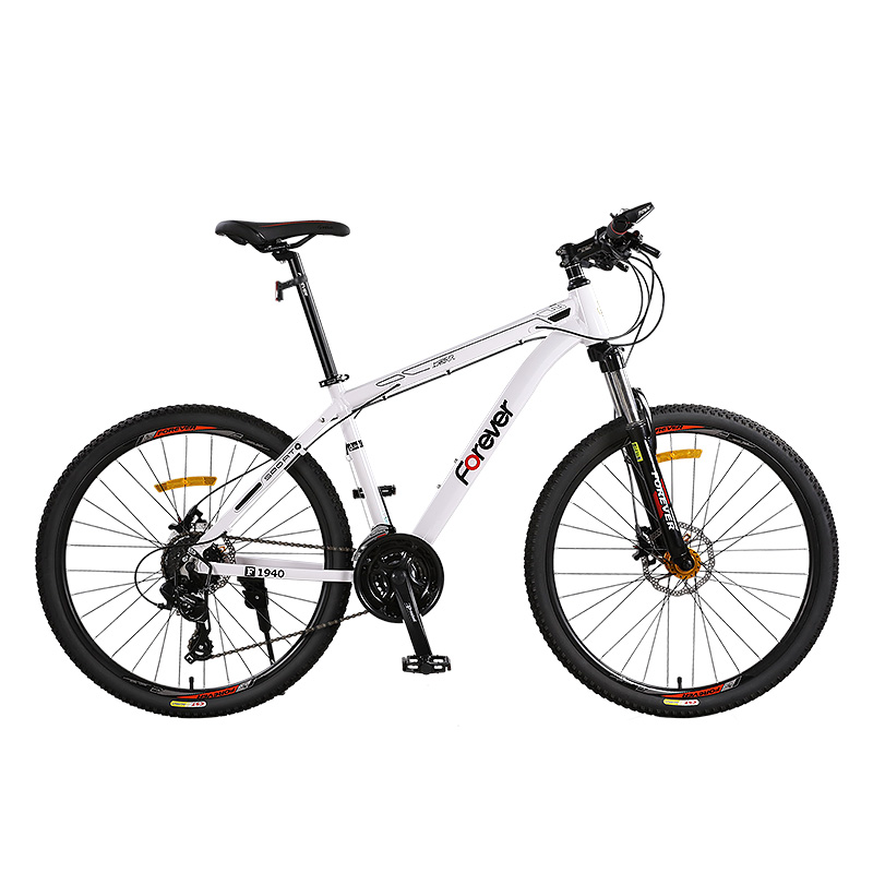 26 Inch Mountain Bike Adult Aluminum Alloy Hard Frame Double Disc Brake Suitable For 155-185cm