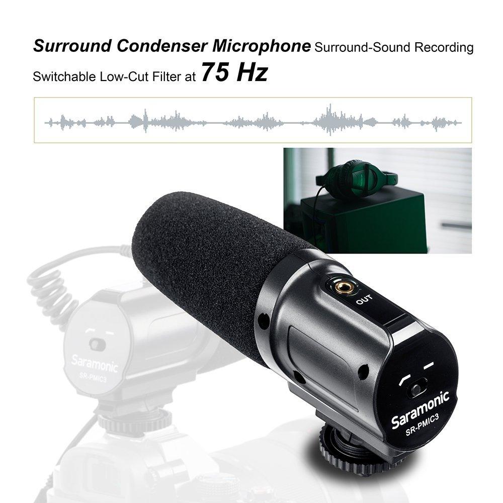Saramonic SR-PMIC3 mikrofon za prostorsko snemanje z integriranim - Prenosni avdio in video - Fotografija 3
