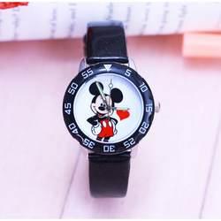 Новая мода Минни дизайн часы Для детей женские мальчиков подарок часы Повседневное кварцевые наручные Relojes коль saati