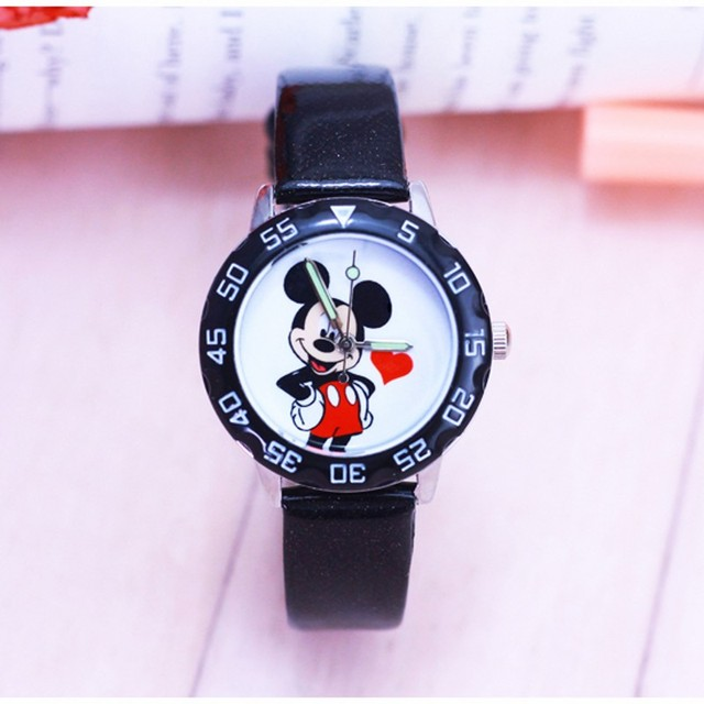 New fashion minnie desgin Watches Children Kids ladies women Boys gift Watch Cas