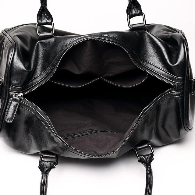 Chinese Luxury Unisex Large Capacity Black Travel Bag