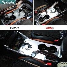 Tonlinker 3 шт. DIY автомобиля Стайлинг ABS Шестерни киосков панель декоративный свет коробка чехол наклейки для Hyundai ix35 части аксессуары