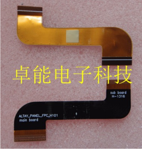 7 Lenovo A3000 A3000H Tablet Touch Display LCD Connector Flex Ribbon Cable Main board Altay_panel_fpc_h101 sub board H-1316 tablet lcd flex cable for microsoft surface pro 5 model 1796 lcd dispaly screen flex cable m1003336 004