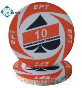European Poker Chips Turnier Keramik Poker Chip Ept Orange