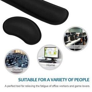 Image 4 - RAKOON repose poignet ergonomique, avec Base antidérapante, pour tympiste de bureau ou PC portable, nouveau
