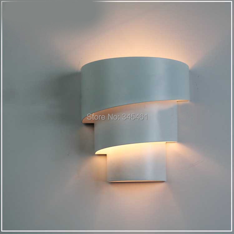 elegent design indoor wall light metal body wall mounted whitered lamp with led bulbs up down wall light for living room in wall lamps from lights - Wall Mounted Lights For Living Room