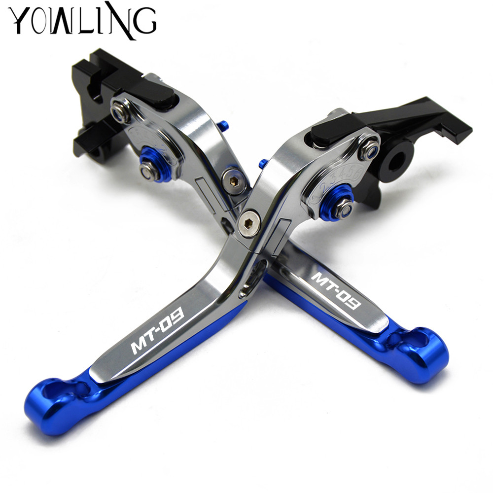 For YAMAHA FZ-09 FJ-09 MT-09 SR MT09 MT 09 MT-09 Tracer 2014-2017 Motorcycle Accessories Folding Extendable Brake Clutch Levers for yamaha mt 09 mt 09 tracer 2014 2015 motorcycle adjustable folding extendable brake clutch levers fz 09 mt 09 sr not fj 09