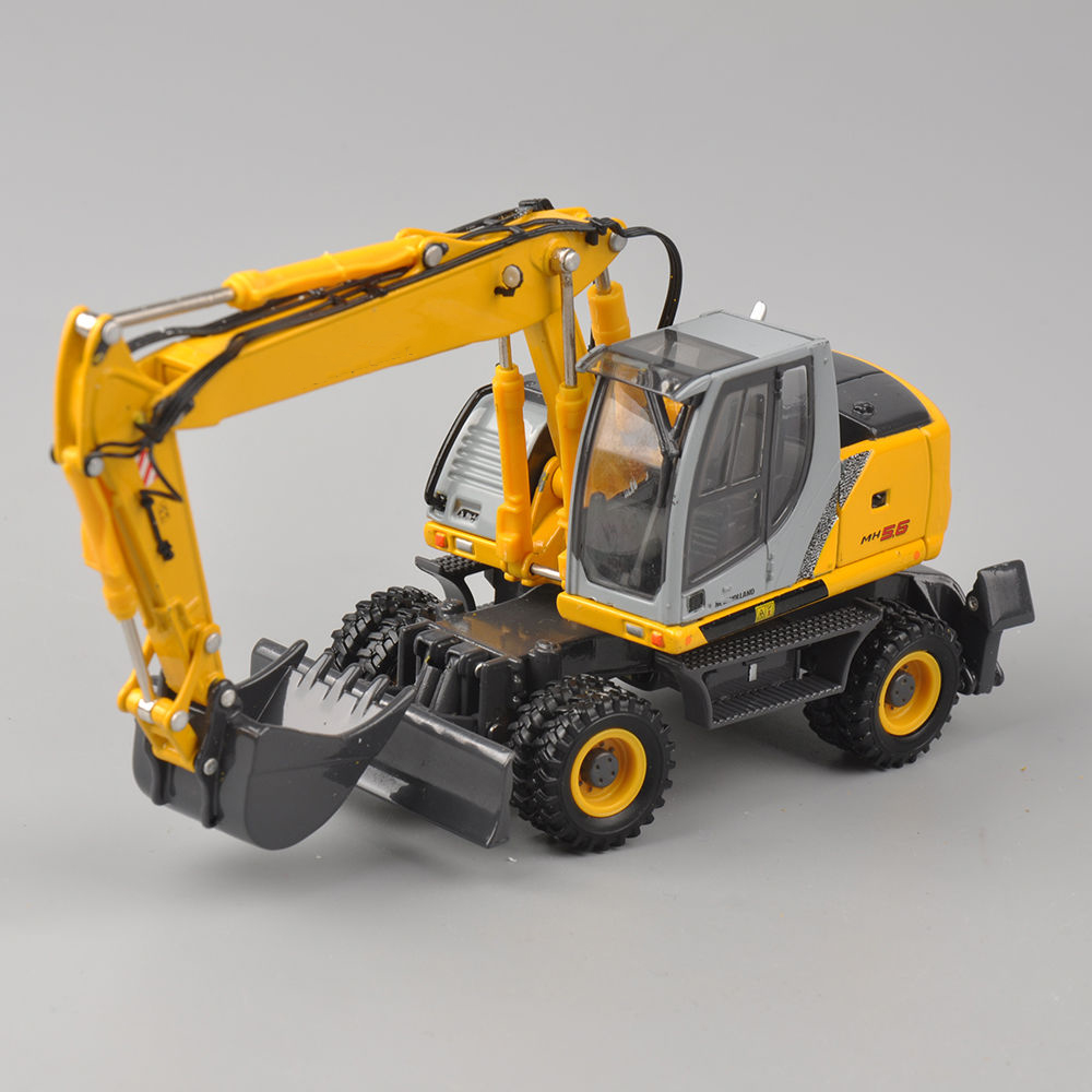 Collection Diecast Model Car 1/50 Scale diecast Construction Hydraulic Excavator Model Truck Model Kids Toys Collection Gift collection diecast 1 50 scale m318f wheeled diecast excavator truck car vehicles diecast model