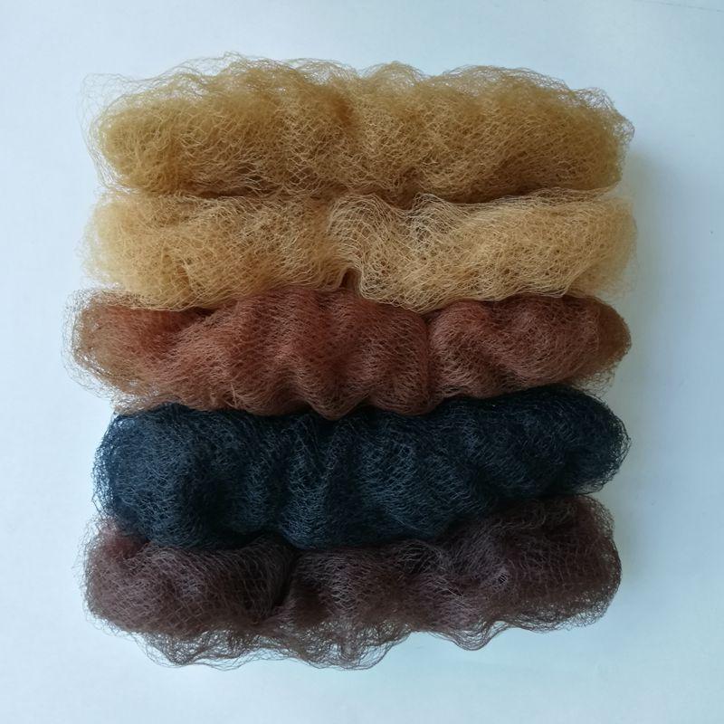 50pcs Elastic Line Invisible 5mm Mesh Hair Styling Hairnet Dancing Or Sporting Net Ballet Hair Bun