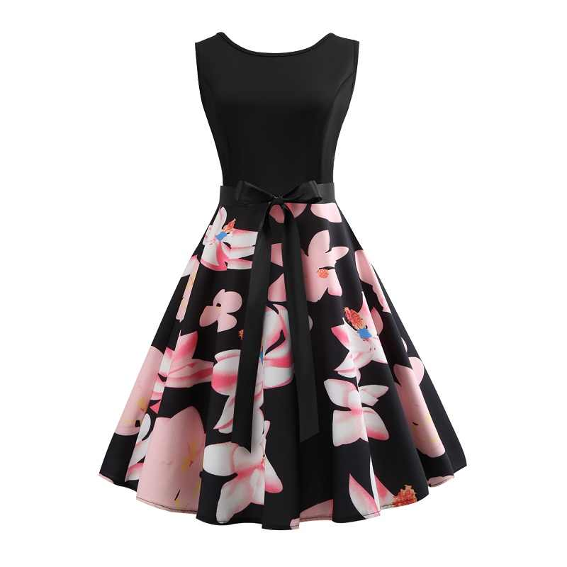 Teen Party Dress Girl Dress for Kids Flower print dress summer Clothes Teenagers Prom Gowns Dresses Women's clothes size S-XXL