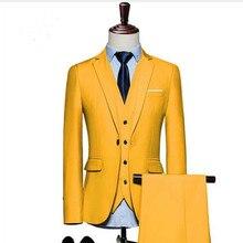 2018 nuevos Mens baratos trajes Slim Fit 3 unidades novio traje de boda por  encargo del baile trajes para hombres Groomsmen esmo. 8a83a7fb4ab