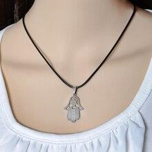 Luck Hamsa Pendants Necklace