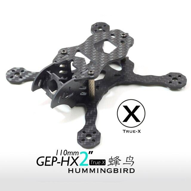 GEPRC GEP HX2 Colibrí 110mm Mini Quadcopter FPV Freestyle 3 k Fibra ...