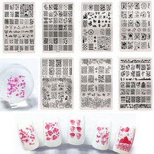 MAFANAILS Fashion 1PC Lace Design Nail Stamping Plates DIY Art Image Stamp Manicure Set Template Tool HK01-11