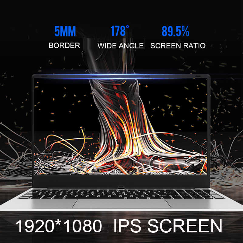 15.6 بوصة أجهزة الكمبيوتر المحمولة الألعاب i7 8G RAM 1 تيرا بايت 512G 256G 128G كامل الجسم المعدني الكمبيوتر المحمول الخلفية Ultrabook ل GTA5 نداء الواجب