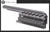 Vector Optics Galil Golani 2-Piece Handguard Quad Rail 1913 Picatinny Scope Mount System Fits Century Aluminum Black