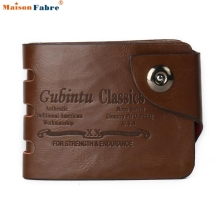 Men Mini PU Leather Credit Card ID Coin Holder Money Clip Wallet Comfystyle