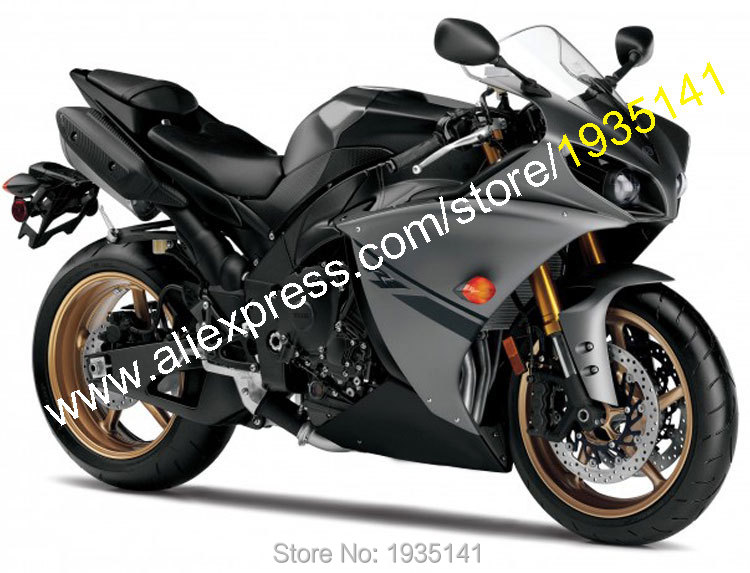 Hot Sales,For Yamaha YZF 1000 R1 2012 2013 2014 ABS Accessories YZF-R1 Gray Black Motorcycle Fairing Sets (Injection molding) hot sales black frosted style motorcycle