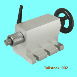 CNC tailstock 4 Axis MT2 Rotary Axis Lathe Wood router Chuck for CNC Router Engraving Machine
