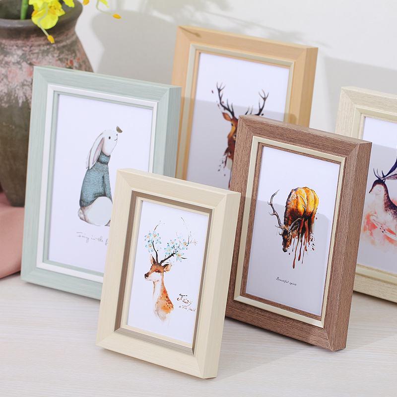 1 Pcs Resin Picture Frame Wall Art Classic Poster For Hanging Photo Creative Home Decoration Cadre
