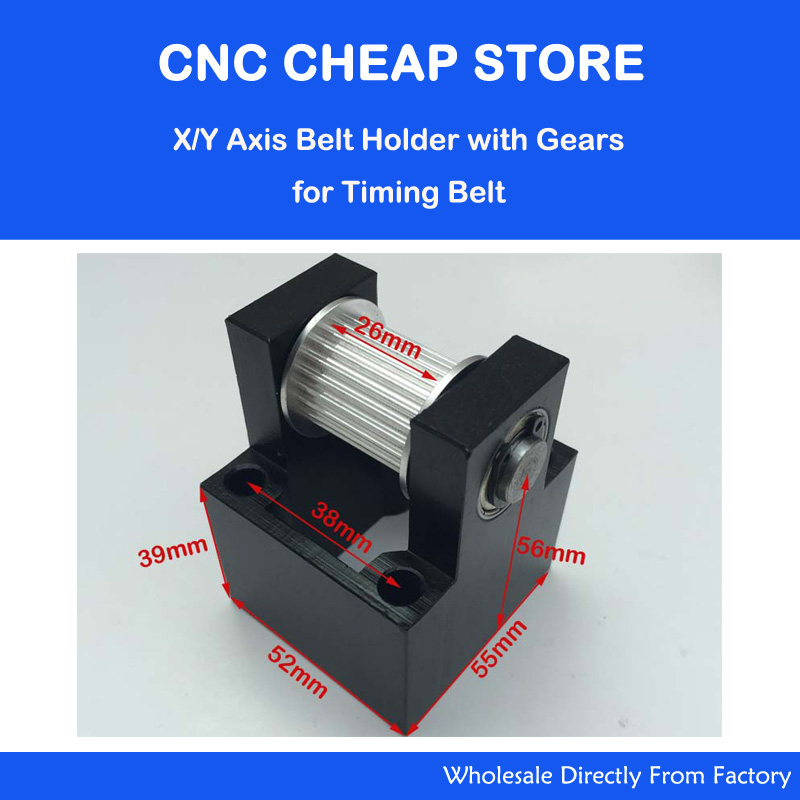 26mm Belt Width Timing Synchronous Pulley for CO2 Laser Cutter Cutting Machine 24 Teeth gears, aluminium alloy26mm Belt Width Timing Synchronous Pulley for CO2 Laser Cutter Cutting Machine 24 Teeth gears, aluminium alloy