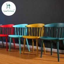 Луи Мода ожидания стулья Цветные отдыха подлокотник спинки дизайнер обеденный современный минималистский кофе западный ресторан отдых
