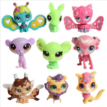 15 Pcs / sac Random LPS modèle lps Toy sac Littlest Pet Shop Mini Jouet Animal Chat patrulla canina chien Figurines Enfants Jouets
