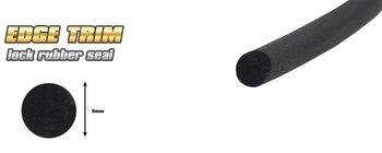 O shape  P shape   L shape Rubber Edge Trim Seal noise dampening Silencer sound proofing Rear Hatch Seal Door Seal 5000cm