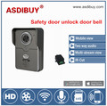 Safety remote door unlock Wireless Doorbell Type and Doorbells video doorbell waterproof outdoor iOS Android view wifi doorbell