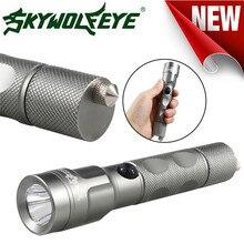 Sky Wolf Eye Outdoor Bike Bicycle Light Lamp Flashlight Focus 3 Modes XML T6 LED Flashlight Torch Lamp Powerful A1